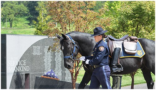Oregon Fallen Law Enforcement Officers Memorial, Salem, Oregon 2