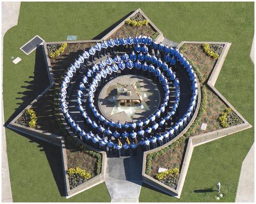 California Highway Patrol Memorial Fountain 3