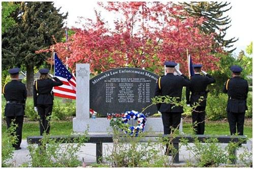 Missoula Law Enforcement Memorial 1