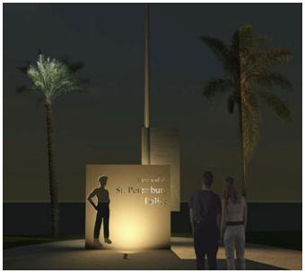 St. Petersburg, Florida, Police Department Memorial 1