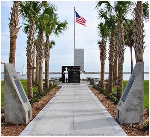 St. Petersburg, Florida, Police Department Memorial 2