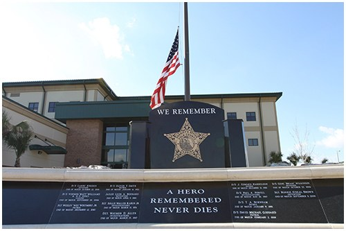 Dedicated in January 2011, the Polk County Sheriff's Office Memorial pays tribute to the law enforcement officers and their K-9 partners who paid the ultimate price while serving the citizens of Polk County, Florida.