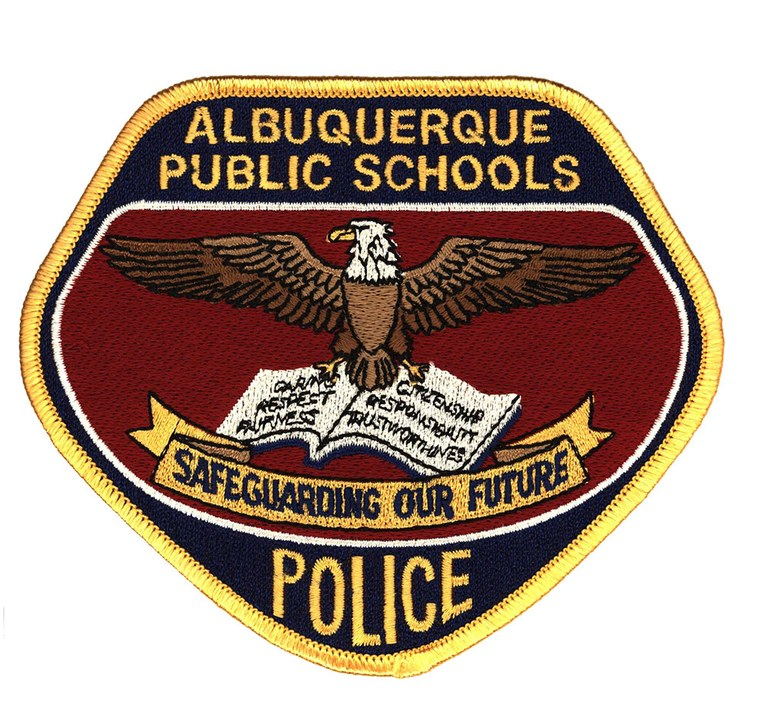 The patch of the Albuquerque, New Mexico, Public Schools Police Department.