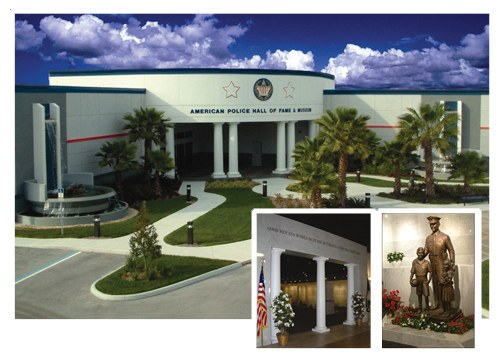 In 1960, retired Police Chief Gerald Arenberg established the American Police Hall of Fame Memorial and Museum in a 3,000-square-foot building in Northport, Florida. It relocated in 1989 to a 38,000-square-foot, three-story building in Miami, Florida, previously occupied by the FBI. In 2003, land was purchased in Titusville, Florida, an area known as the Space Coast, where a new 50,000-square-foot facility was built. It is the nation's first and largest museum and indoor memorial dedicated to law enforcement officers nationwide who were killed in the line of duty.