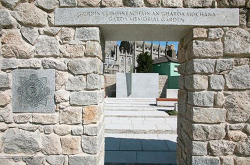 Garda Memorial Garden Entrance