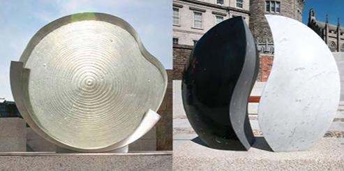 Garda Memorial Garden Glass Sculpture