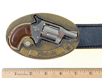 Unusual Weapons: Belt Buckle Revolver
