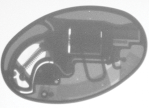 Belt Buckle Revolver X-Ray