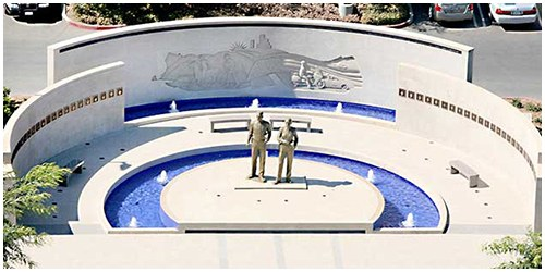 The Orange County Peace Officers' Memorial opened in Santa Ana, California, in 1986. The monument originally honored 26 fallen officers, beginning with the first Orange County peace officer, killed in 1912.