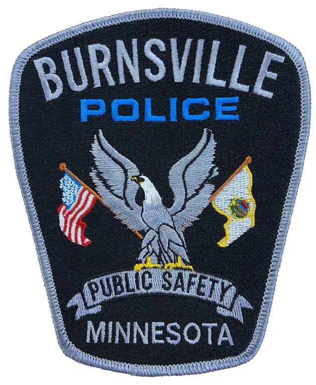 The shoulder patch of the Burnsville, Minnesota, Police Department.