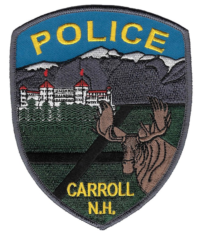 Image of the Carroll, New Hampshire, Police Department shoulder patch.