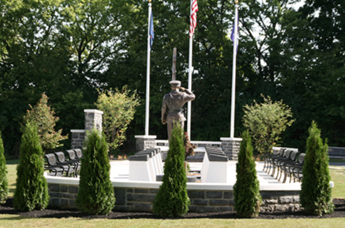 This memorial pays homage to 11 law enforcement officers killed in the line of duty serving the people of Cumberland County and provides a fitting tribute to their memory.