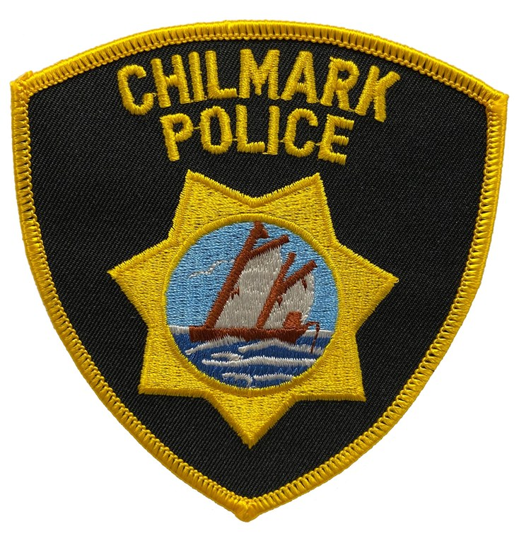 The shoulder patch of the Chilmark, Massachusetts, Police Department.