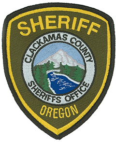 The patch of the Clackamas County, Oregon, Sheriff's Office features the state's most recognized landmark—Mt. Hood—climbed more often than any other mountain in North America. The snow-capped peak stands above verdant forests and the Sandy River, which flows from the Reid Glacier on the mountain's southwest flank and supplies drinking water to nearby Portland. Serving a mix of rural and urban communities spread over a land area almost the size of Delaware, the Clackamas County Sheriff's Office was established in 1845, 14 years before the Oregon Territory became a state.