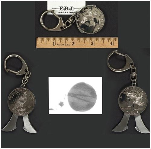 Coin Key Chain
