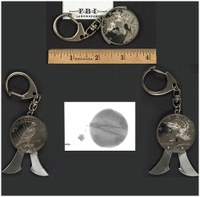 Unusual Weapons: Coin Key Chain