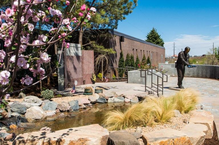 The Colorado Law Enforcement Memorial at Camp George West, in Golden, Colorado.