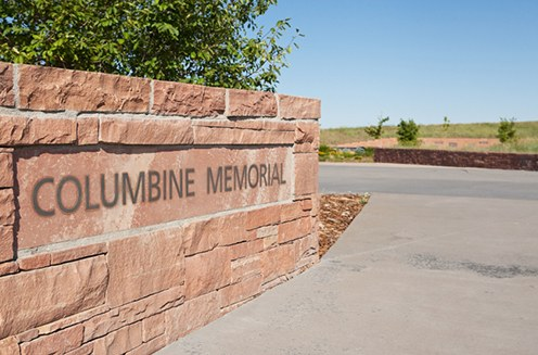 The Columbine Memorial, opened in 2007, honors those who were killed and injured during the shooting at Columbine High School on April 20, 1999.