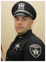 Officer Edward Weissgerber of the Brookfield, Illinois Police Department rescued a man who had been stabbed seven times and was hanging from a noose in an apartment and arrested a suspect who was later charged with attempted murder. Weissgerber was a Bulletin Notes recipient in December 2012.