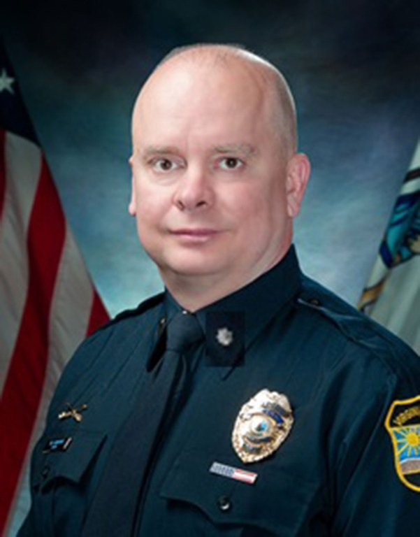 Photo of Deputy Chief Patrick Gallagher of the Virginia Beach, Virginia, Police Department.