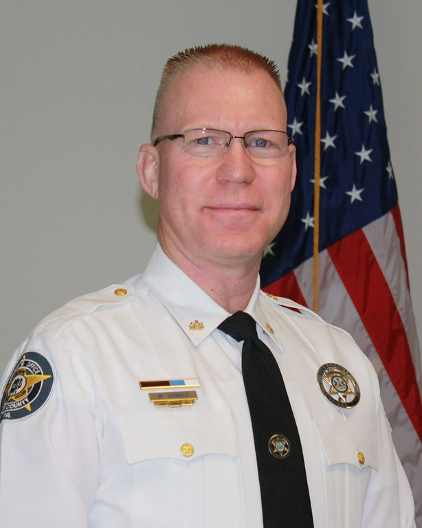 Deputy Mark Runkle of the York County, Pennsylvania, Sheriff's Office.