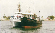 FV Rebelde boat seized on February 16, 2000 in the Eastern Pacific with almost five tons of narcotics.