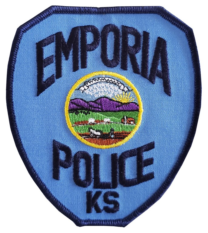 The shoulder patch of the Emporia, Kansas, Police Department.