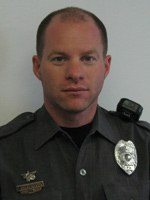 Officer Jason Culbertson of the Caln Township, Pennsylvania Police Department used his body as a shield to guide two women to safety following an apartment fire. Culbertson was a Bulletin Notes recipient in February 2010.