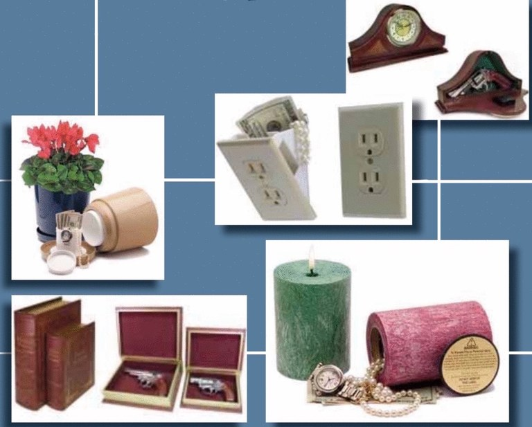Diversion safes disguised as common household items can provide criminals a convenient hiding place for incriminating items, such as narcotics, weapons, and cash.