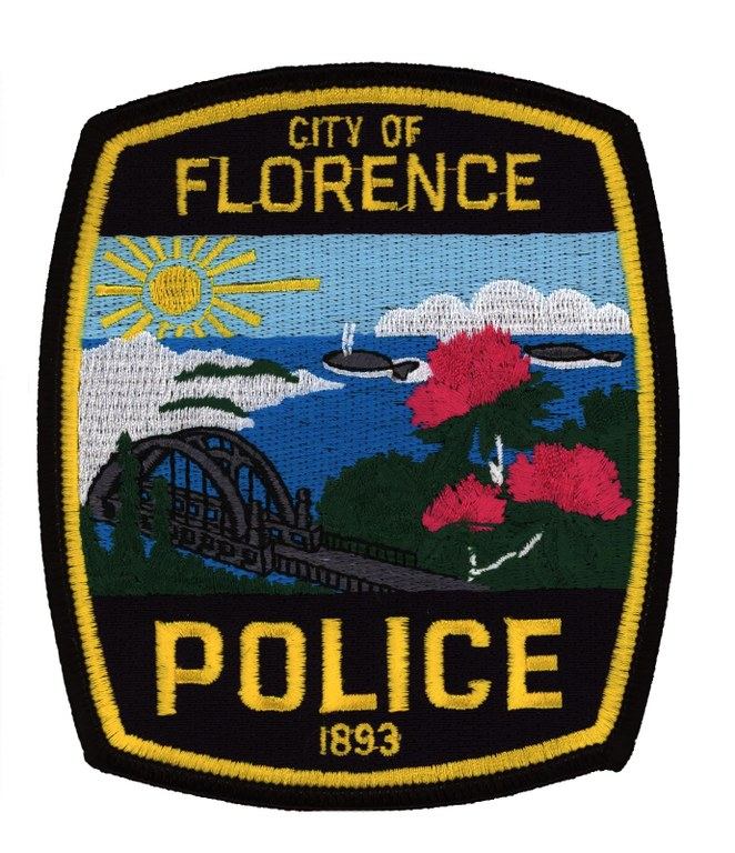 Patch of the Florence, Oregon, Police Department