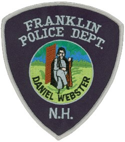 The city of Franklin, New Hampshire adopted its name in 1820 in honor of Benjamin Franklin. Another famous American statesman, Daniel Webster, is depicted on the patch of the Franklin Police Department. Webster was born in 1782 in a section of Franklin that was then part of Salisbury, New Hampshire. His birthplace has been preserved and is a state historic site.