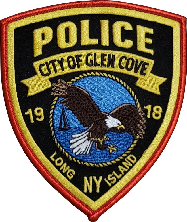 The shoulder patch of the Glen Cove, New York, Police Department.