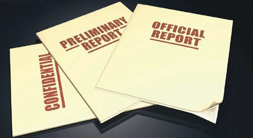 Graphic of Report Covers (Stock Image)
