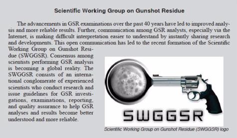 Scientific Working Group on Gunshot Residue