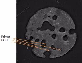 Primer Gunshot Residue on a Smokeless Powder Disk