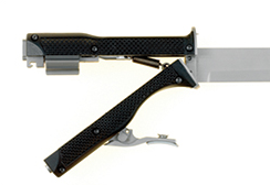 Gun Knife in Open Position