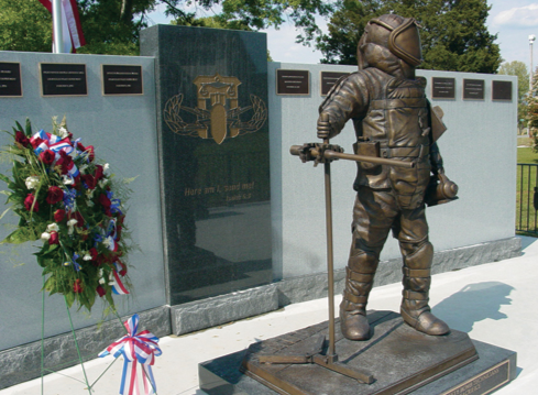 The Hazardous Device School (HDS) Bomb Technician Memorial, dedicated in April 2007, honors all public safety bomb technicians who died in the line of duty while performing a hazardous device operation or response.
