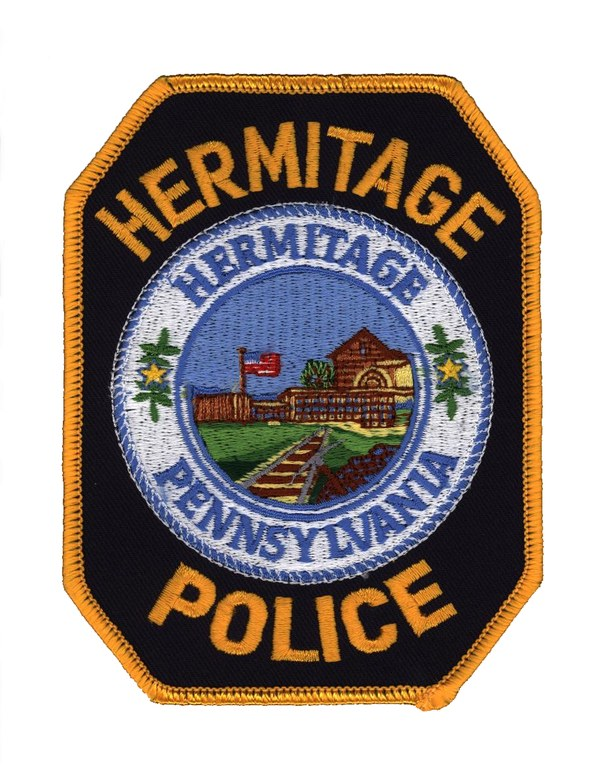 Patch of the Hermitage, Pennsylvania, Police Department