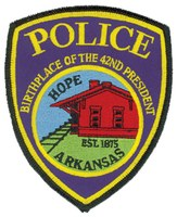 Hope, Arkansas, Police Department