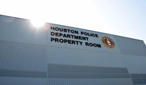 Houston Police Department Property Room