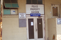 Houston Police Department Old Property Room