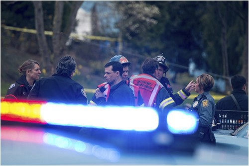 Officers and Other Personnel Respond to Incident