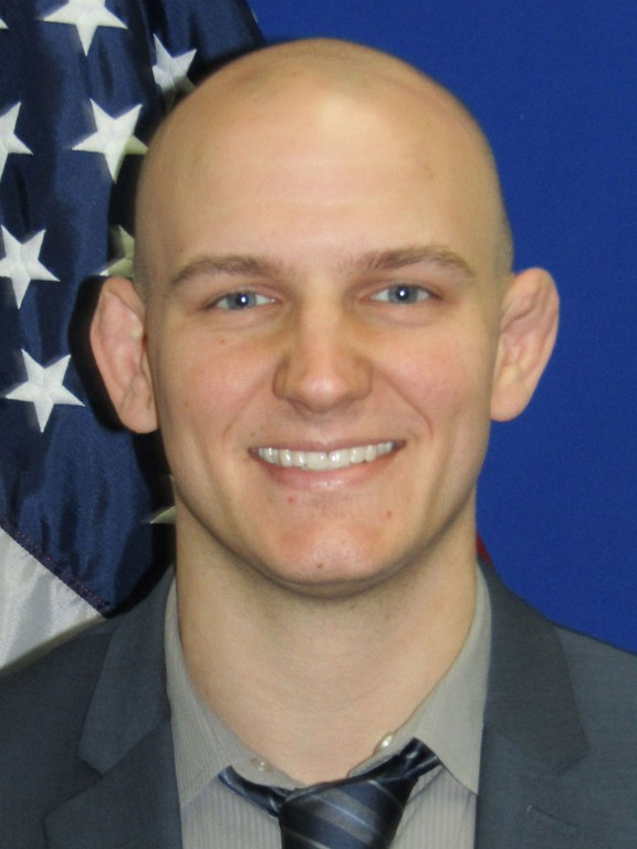 Officer Jason Trzewieczynski of the Fremont, California, Police Department.
