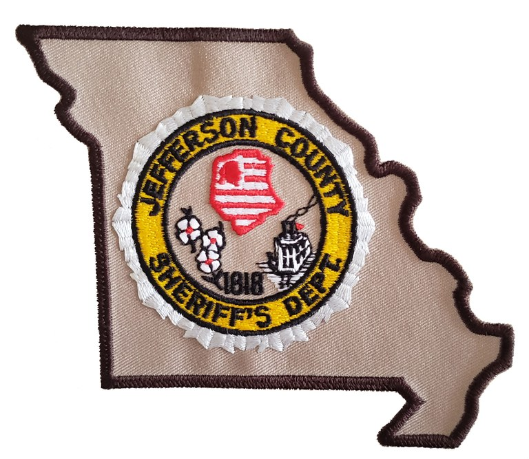 The shoulder patch of the Jefferson County, Missouri, Sheriff's Department.
