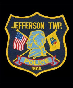The patch of the Jefferson Township, New Jersey, Police Department centers on the naming of the department's jurisdiction. The township was incorporated in 1804, the same year as Thomas Jefferson's recorded inauguration as the third president of the United States. As such, the patch displays a profile bust of Thomas Jefferson, intersecting U.S. and New Jersey flags, and the year 1804.