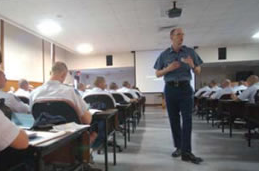 Officers Receiving Classroom Training