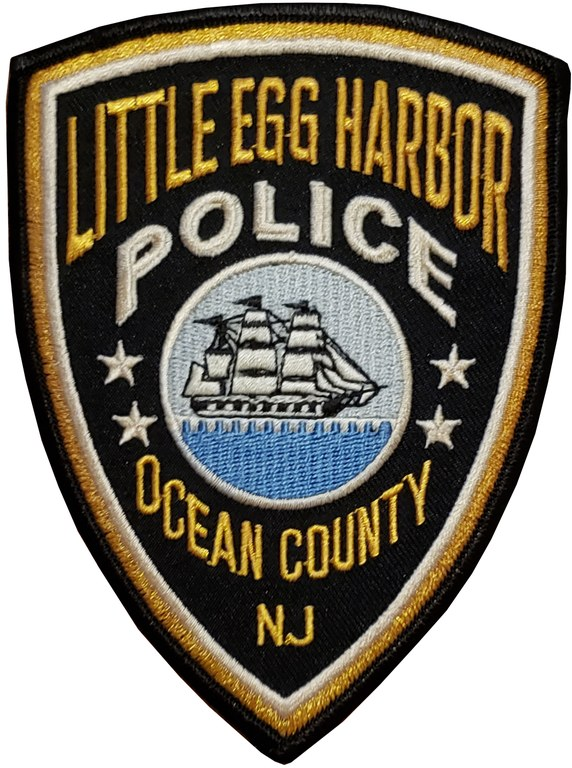 The shoulder patch of the Little Egg Harbor, New Jersey, Police Department.