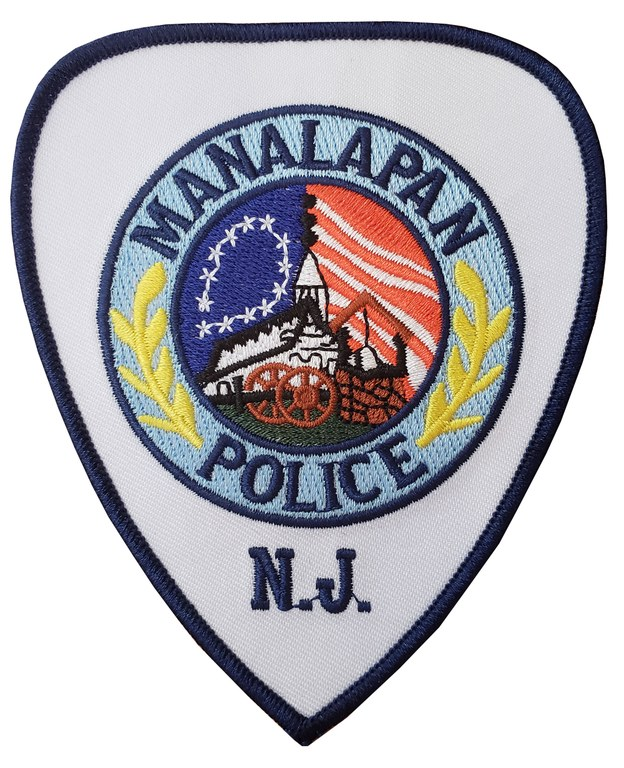 The shoulder patch of the Manalapan Township, New Jersey, Police Department.