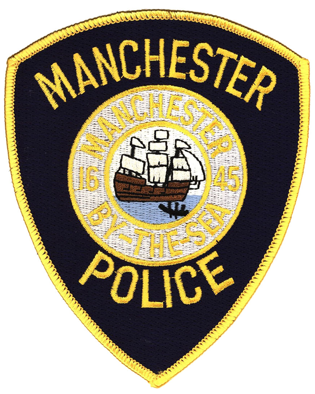 The shoulder patch of the Manchester-by-the Sea, Massachusetts, Police Department.