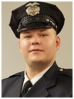 Officer Matt Beck of the North Olmsted, Ohio Police Department rescued an intoxicated man who had walked into lanes of traffic, raising his arms and yelling for cars to hit him. Beck was a Bulletin Notes recipient in March 2015.